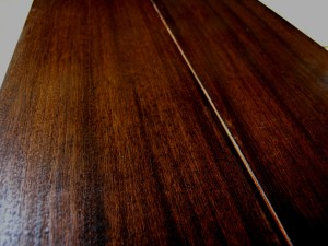 African Mahogany Flooring - Darker Unit
